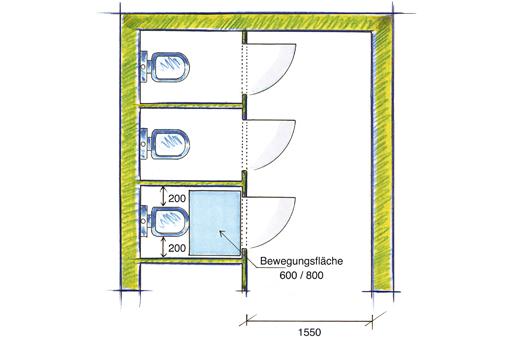 Sehr VBG - 3.8 Toilettenräume YM48